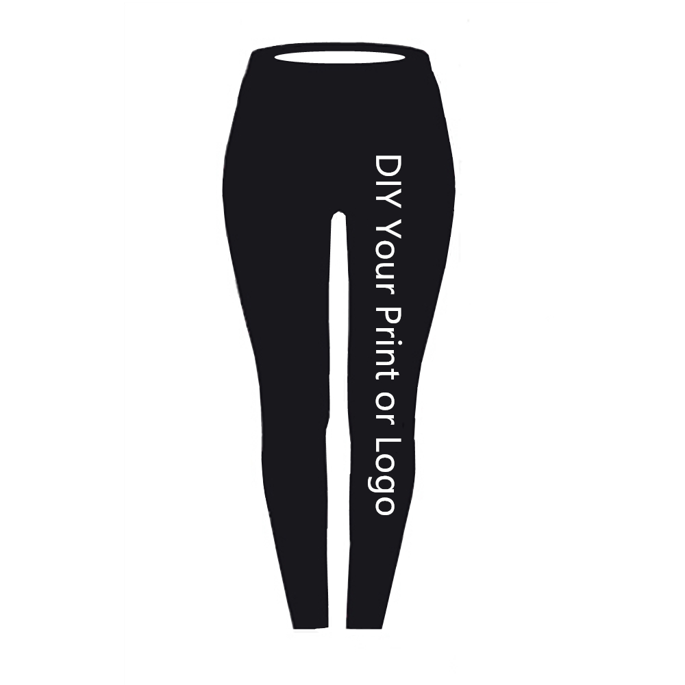 Customized Print Leggings DIY Your Photo Or Logo Elastic Fitness Leggings Casual Leggings 3D Digital Printing Process