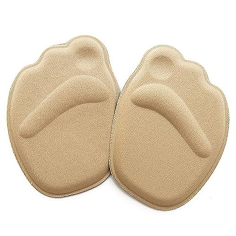 Foot Care Sponge 4D Forefoot Front Pad Half Insoles Anti Slip Cushion Pads Memory Foam Shoe Insoles Heel Cushions For Shoes