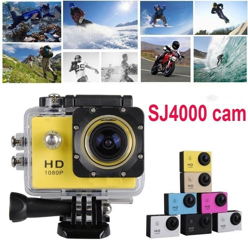 """Home Use mini camcorder Ultra 1080P (Full HD)  Waterproof 2.0"""" Action Camcorder 30M Sports DV Camera Go Car Cam Pro  vlog camera