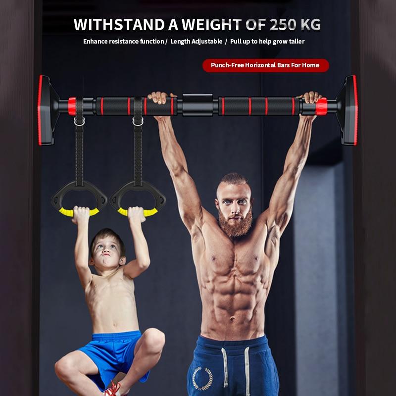 Tür Horizontale Bars Stahl 500kg Einstellbare Home Gym Workout Kinn push-Up Pull Up Training Bar Sport Fitness Sitzen-ups Ausrüstungen