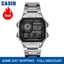 часы мужские Casio Взрыв часы мужские лучшие марки класса люкс LED военные цифровые часы спортивные Водонепроницаемые часы кварцевые мужские ч...