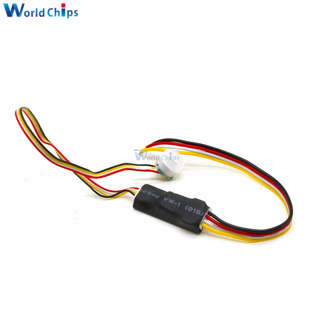 Détecteur de Présence PIR 120º Mini Composants électriques