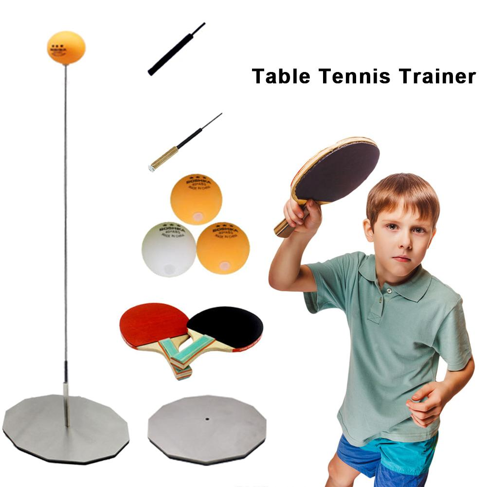 Elastic Soft Shaft Table Tennis For Indoor Or Outdoor Play Leisure Sports Table Tennis Paddle Trainer Supplies