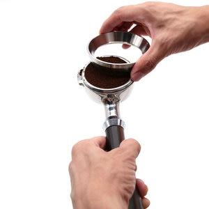 Image 2 - 51/53/57.5/58/58.35 Mm Thép Không Gỉ Thông Minh Định Lượng Nhẫn Pha Bát Bột Cà Phê Cho Espresso Barista Phễu Portafilter