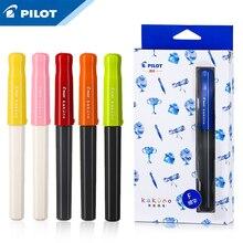 1 10pcsパイロット角野笑顔の顔ペンFKA 1SR樹脂材料グリップ姿勢補正交換可能なインクバッグ書き込みスムーズな学生のペン