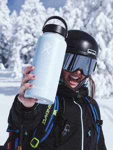 Water-Bottle Hydro-Flask Frost Stainless-Steel Travel Vacuum-Insulated-Wide-Mouth Portable
