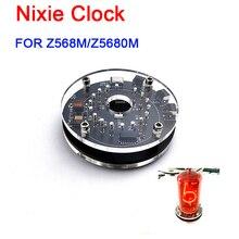 LED digital Desk Nixie Clock USB type-C power Mini Vintage Single FOR Z568M / Z5680M Glow tube clock Built in Boost module