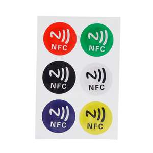 NFC Tags Stickers Label Rfid-Tag Adhesive Phones NTAG213 Universal for All-Nfc