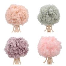 Blyth bambola icy RBL del cuoio capelluto e la cupola di parrucca di capelli ricci solo per il FAI DA TE bambola personalizzata
