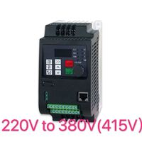 VFD 2.2KW single phase to 3 phase inverter 220v to 380v variable frequency drive converter