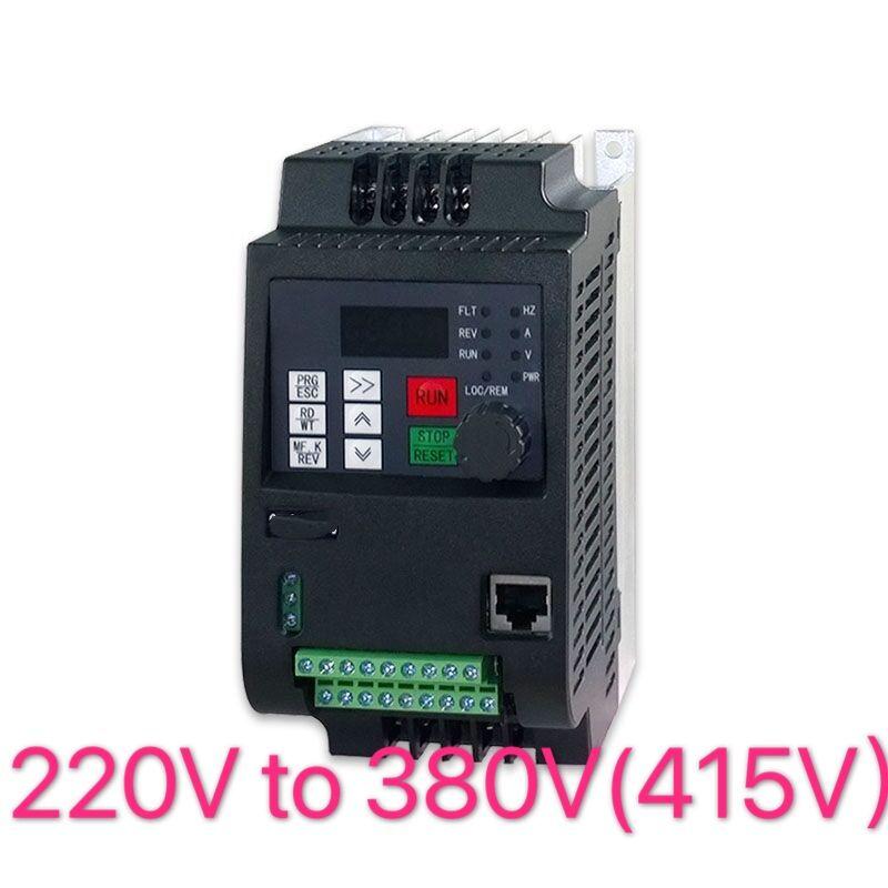Vfd380 кВт/220 кВт/привод переменной частоты 3-фазный в выход 1-фазный в контроллер входной скорости Инверторный двигатель VFD инвертор