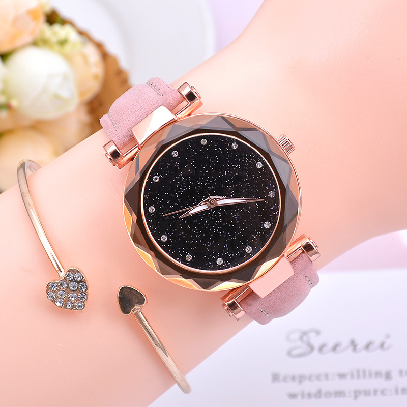Women Watch Starry Sky Female Clock Luxury Rose Gold Women Bracelet Watch Ladies Quartz Wrist Watch Reloj Mujer Relogio Feminino