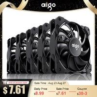 Aigo Frost 120mm PWM Fall Fan 4pin Computer Fan Stumm CPU Kühlung Quiet PC Kühler Fan Fall Fans 12V Anpassen Lüfter Geschwindigkeit kostenloser schrauben