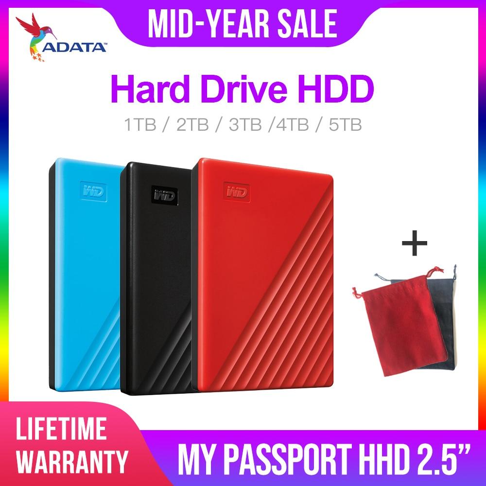 Western Digital mon passeport hdd 2.5 USB 3.0 SATA Portable HDD périphériques de mémoire de stockage disque dur externe disque dur 2 to 4 to