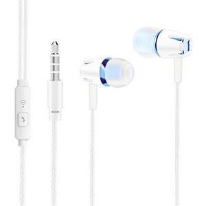 Wired Headphone Coolpad Leeco Jack-Headset Earbud for Letv/Le/Coolpad/.. with Mic Earpiece