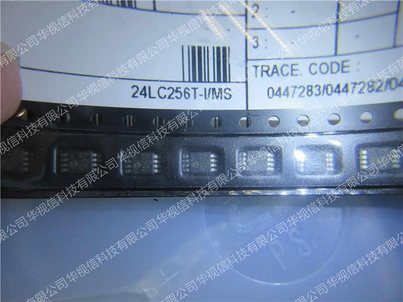 24LC256T-I MS EEPROM 32kx8-2.5 V رقاقة