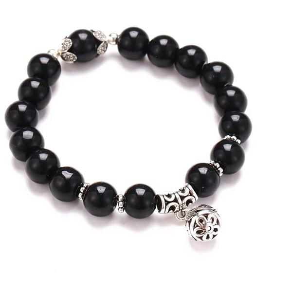 Классический Набор браслетов «Древо жизни» для женщин, многослойный винтажный браслет из натурального камня в виде листьев, браслеты и браслеты, ювелирные изделия, подарки - Окраска металла: 7635