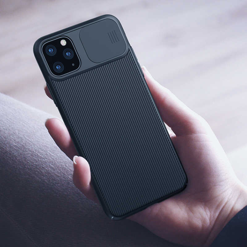 For iPhone 11 Pro Max case slide cover for camera protection NILLKIN for iphone 11 case back cover for iPhone 11 Pro cases
