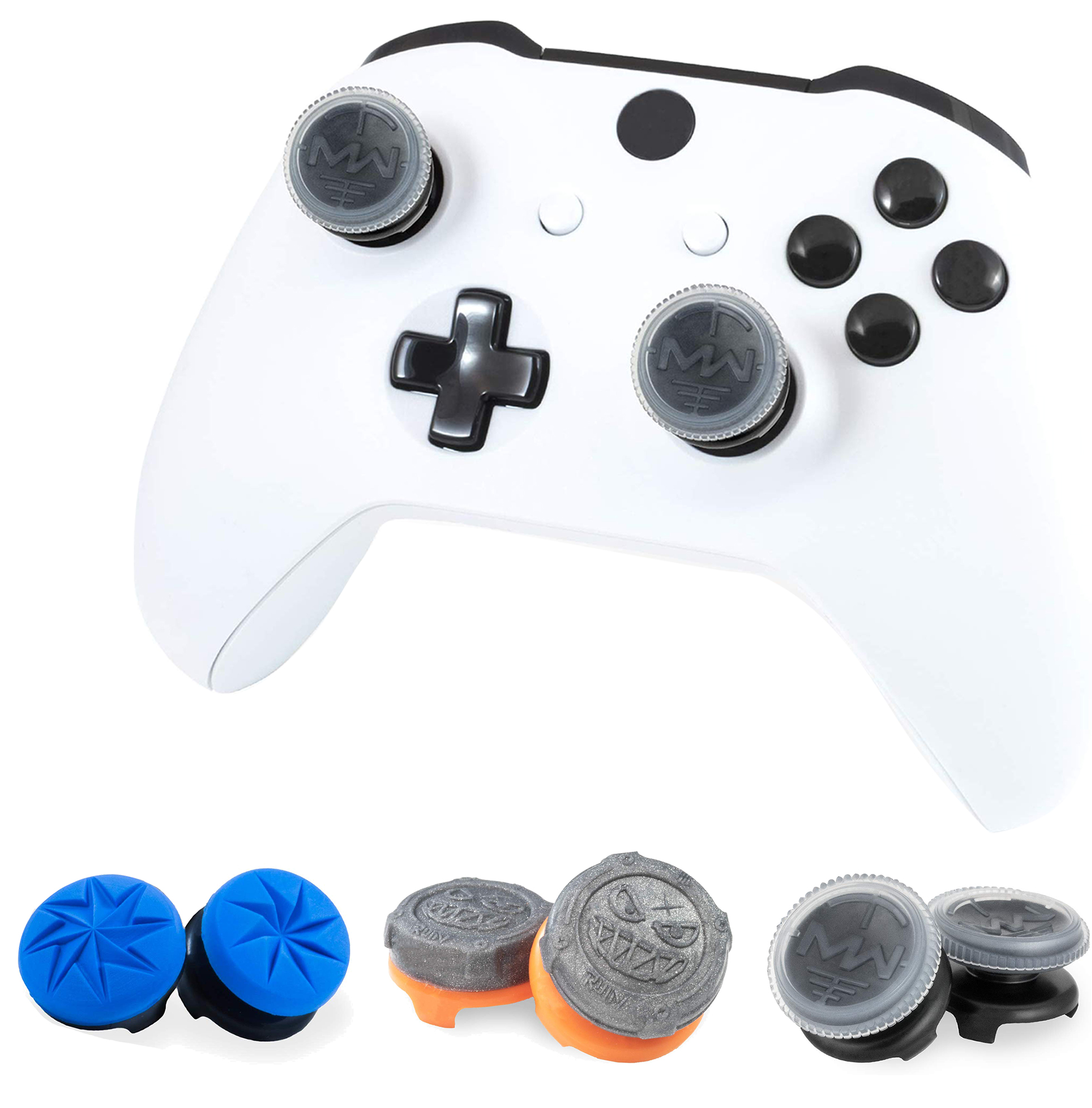 FPS For PlayStation 4 (PS4) Thumbstick Cover Destiny Grav Slam Thumb Grip Stick Joystick Extender Caps  For Xbox One Controller