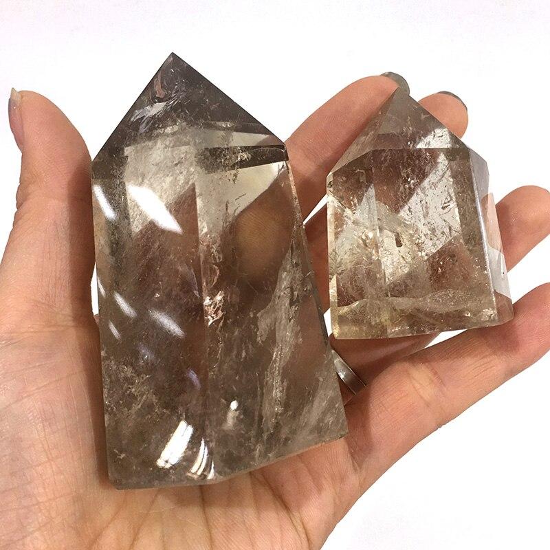 Bastão de arte colecionável, bastão de pedra preciosa cristal natural reiki, cura, drenca, decoração, varinha