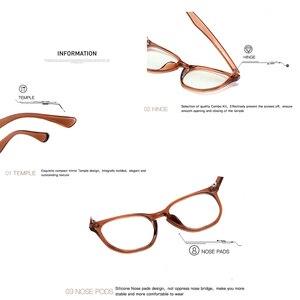 Image 5 - Aevogue抗青色光メガネの男性の光学眼鏡処方フレーム女性ポリゴン眼鏡AE0787