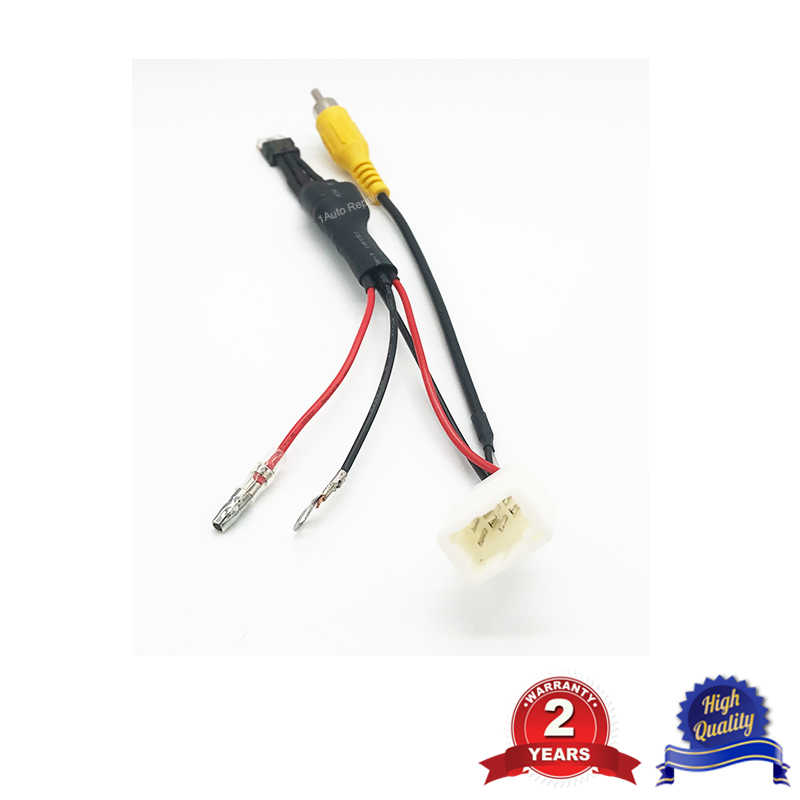 reverse camera retention wiring harness for toyota 4 pin|cables, adapters &  sockets| - aliexpress  aliexpress