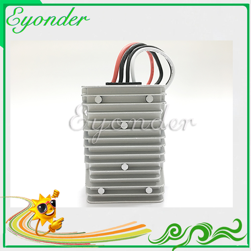 Dc to dc step up-step down boost buck power supply converter 12v 15v 18v 19v 20v 24v 28v 36v 345w input 10-32v output 13.8v 25a