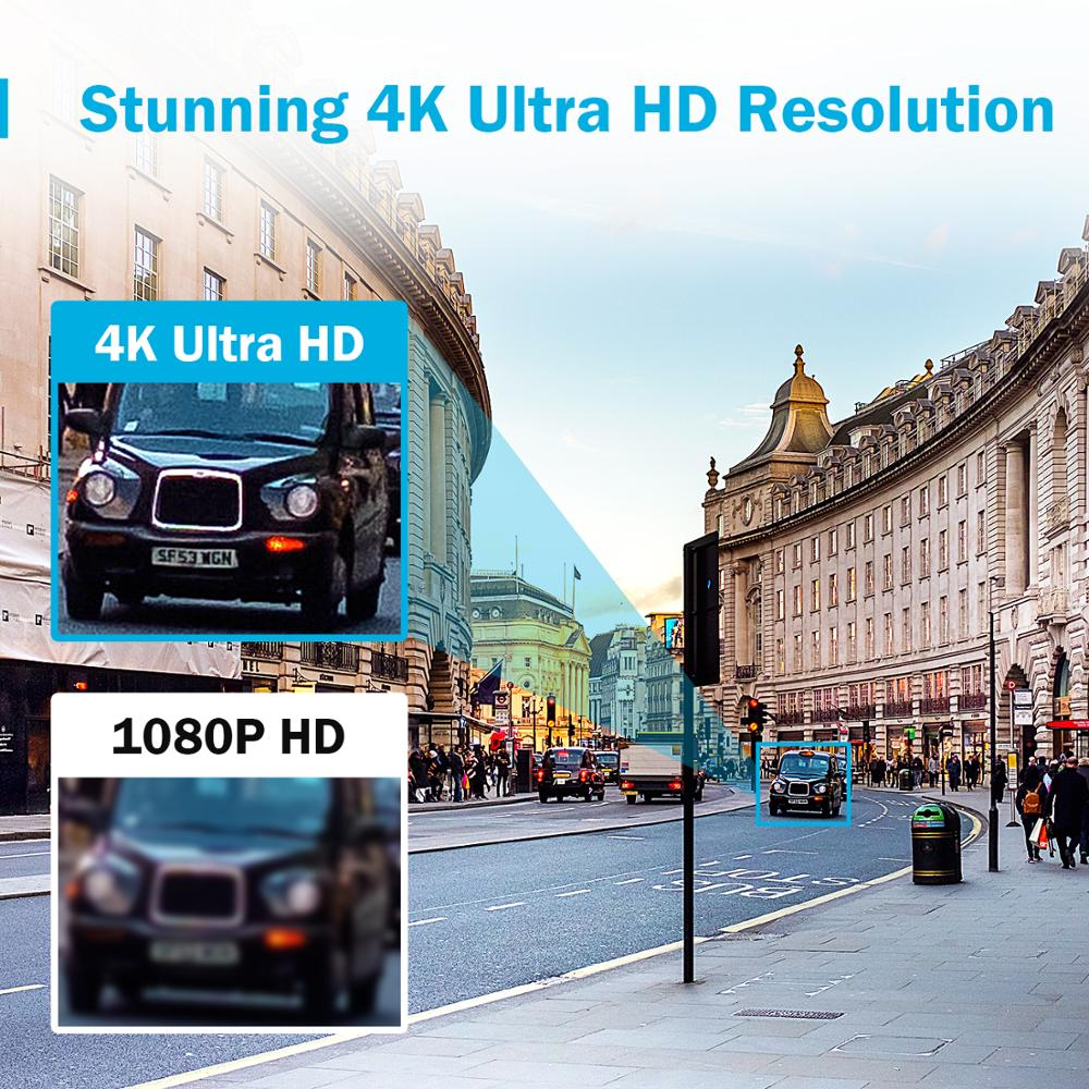 Image 2 - ANNKE 4K HD Ultra Clear 8CH Video Security System H.265+ DVR With 4X 8X 8MP IR Outdoor Weatherproof CCTV Surveillance Camera Kit-in Surveillance System from Security & Protection