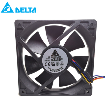 Free shipping for delta fan AFB1212SH 12CM 120MM 1225 12025 12*12*2.5CM 120*120*25MM 12V 0.80A Cooling Fan Good Quality new original ebm papst dv4118 2npu dc48v 0 46a 120 120 38mm 12cm ip54 cooling fan typ4118n 6xmv 4 5w typ4118n