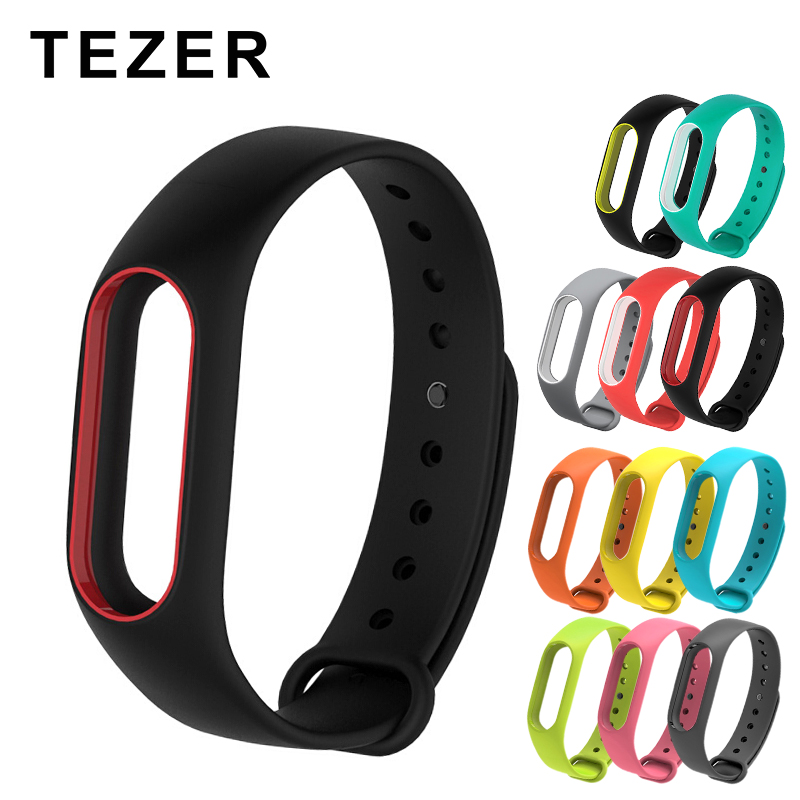 2-Wrist-Strap Belt Smart-Bracelet 2-Accessories Silicone Super-Discount for Mi-2 Colorful title=