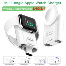 Multi Angle Fast USB Wireless Charging for Apple Watch 6 se 5/4/3/2 Charger for Apple Watch Charger 6 5 4 3 Holder for iWatch