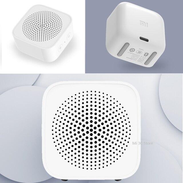 Original xiaomi mijia controle de ia alto-falante bluetooth sem fio portátil mini alto-falante bluetooth estéreo baixo com microfone chamada qualidade hd 6