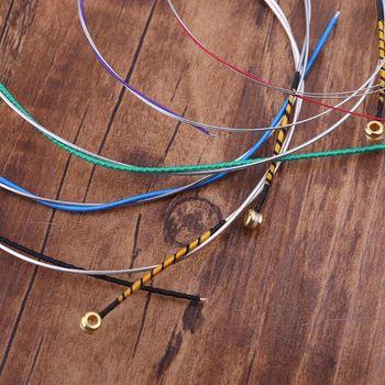 Alice A747 struna do skrzypiec niklowana stal wysokowęglowa nylonowy rdzeń srebrny rany Dropshipping tanie i dobre opinie OOTDTY CN (pochodzenie)