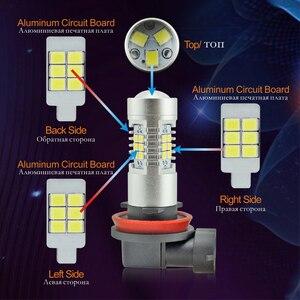 Image 4 - VANSSI 2 Chiếc H8 H11 Đèn LED Sương Mù Bóng Đèn 6000K Trắng HB4 9006 H10 9145 H16 Bóng Đèn LED Ô Tô đèn Bảo Hành 1 Năm
