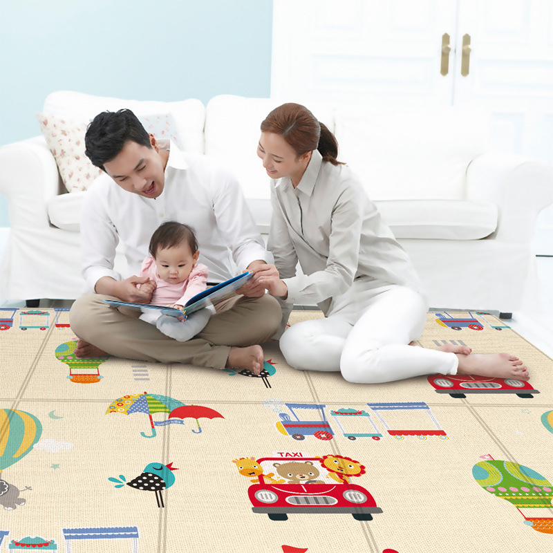 Nursery Carpet Crawling-Mats Soft-Foam Foldable Baby Large Kids Children's for 180--100cm