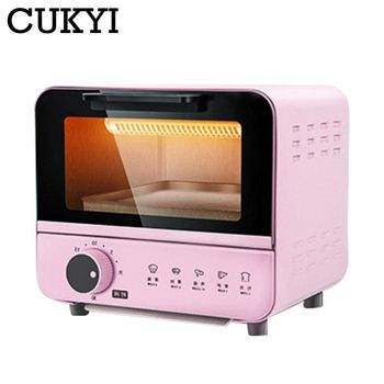 CUKYI 6L Household Electric baking oven toaster pizza bakery machine multifunction mini oven 800W with 30min timer baking EU 220 1