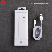 Original Huawei Aufzurüsten Kabel Typ C USB Kabel 5A Quick Charge Für P30 P20 Pro lite Mate 20 10 Pro ehre V20 V10 V9 Hinweis 10