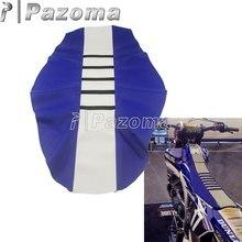 Универсальный чехол для мотоциклетного Креста Enduro ребристые чехлы для сидений тяговые захваты для TE/FE/TC/FC Yamaha WR/TTR/YZ/YZF 250 450