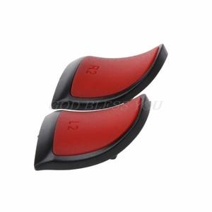 Image 5 - 1 زوج جديد مكافحة زلة L2 R2 الزناد تمديد أزرار عدة ل PS4 تحكم التناظرية تمديدات الإبهام قطرة الشحن