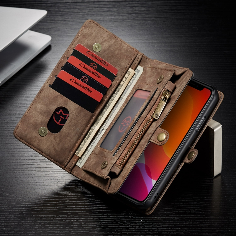 Wallet - Luxury Leather Case for iPhone X XR XS Max 8 7 6 6s