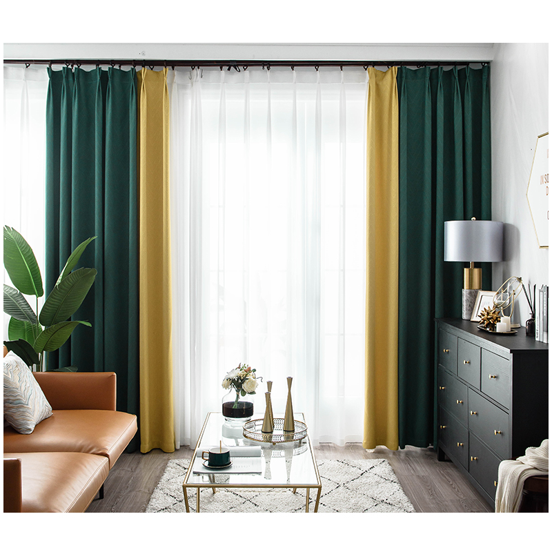 Everyone knows that a bedroom is a place to get away from the world. Modern Blackout Curtains For Window Treatment Blinds For Living Room Bedroom Shading Noise Reduction Customized Matching Curtain Buy At The Price Of 90 29 In Aliexpress Com Imall Com