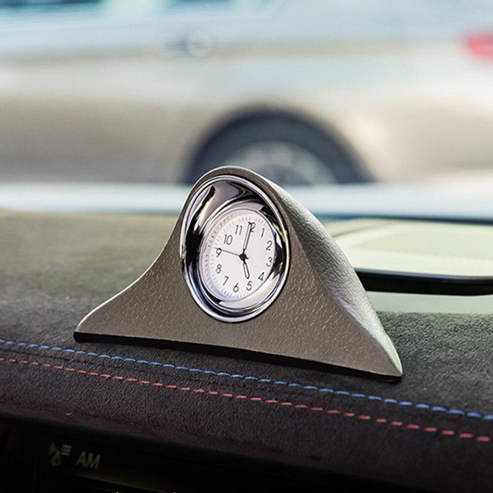 Voiture ornement Automobile tableau de bord décoration horloge Automobile mécanique intérieure montre ornements horloge en Auto accessoires cadeau