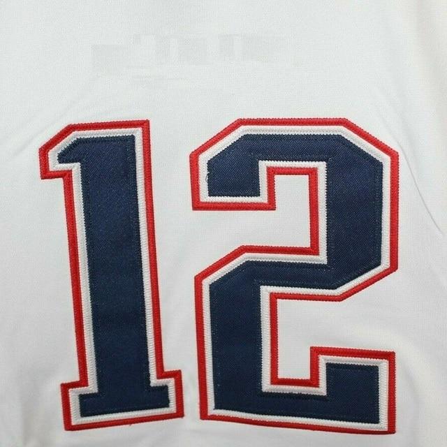 Mens Game Sports New England Fans Jersey Tom Brady Julian Edelman Rob Gronkowski Josh Gordon N'Keal Harry White Game jerseys 1