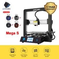 ANYCUBIC Mega S 3d Drucker i3 Mega Verbesserte Extrudieren Plus Größe TFT Touch Screen Desktop FDM Günstige 3D Drucker Kit impresora 3d DIY|3-D-Drucker|Computer und Büro -