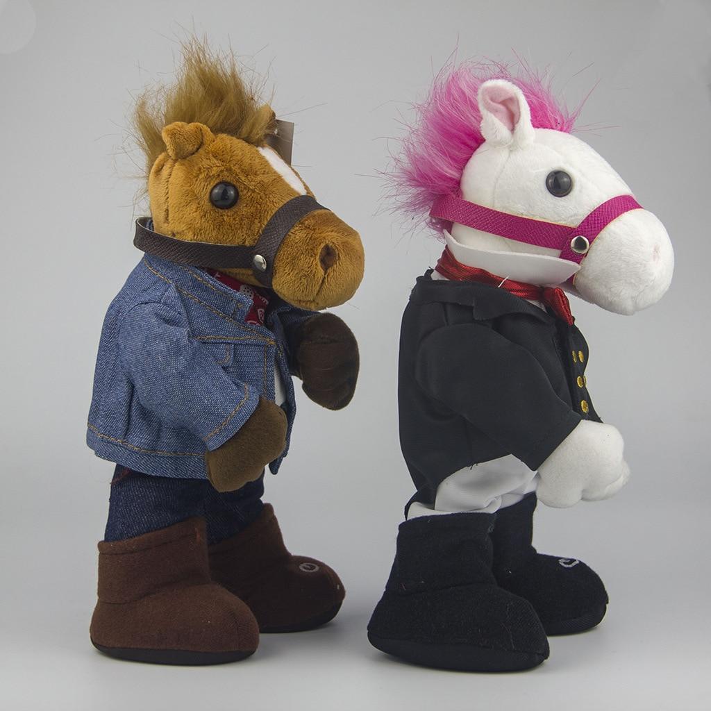 Electric Plush Toys Creative Doll Jiangnan Style Jiangnan Horse Singing Dancing Funny Toy