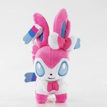 20pcs/lot 12cm Q Sylveon Animals Soft Stuffed Plush Toy Doll