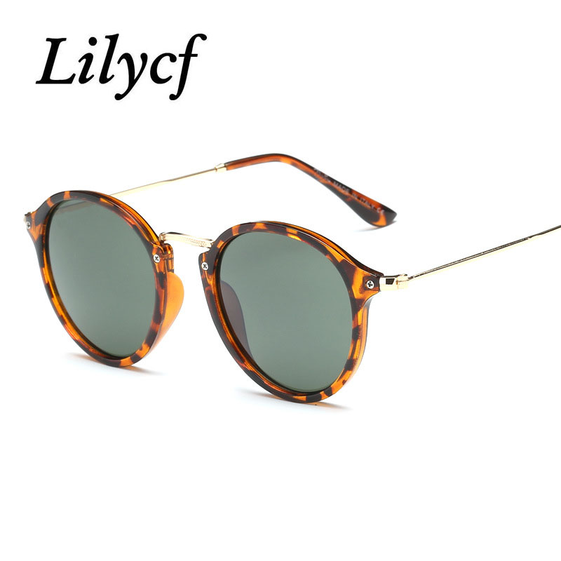 2019 New Round Sunglasses Ladies Retro Trend Transparent Personality Women's Brand Designer Sunglasses High Quality UV400
