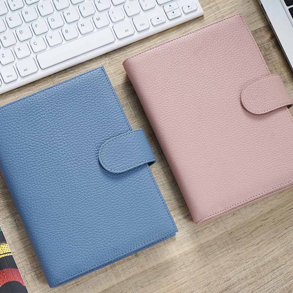 100% Genuine Leather Cover For Stalogy B6 Size Notebook Cover Diary Planner Journal Stationery Agenda Organizer With Big Pocket