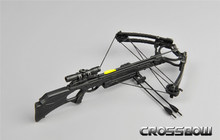 17cm 1/6 escala de plástico arma modelo cena acessórios besta ZY15-24 para 12