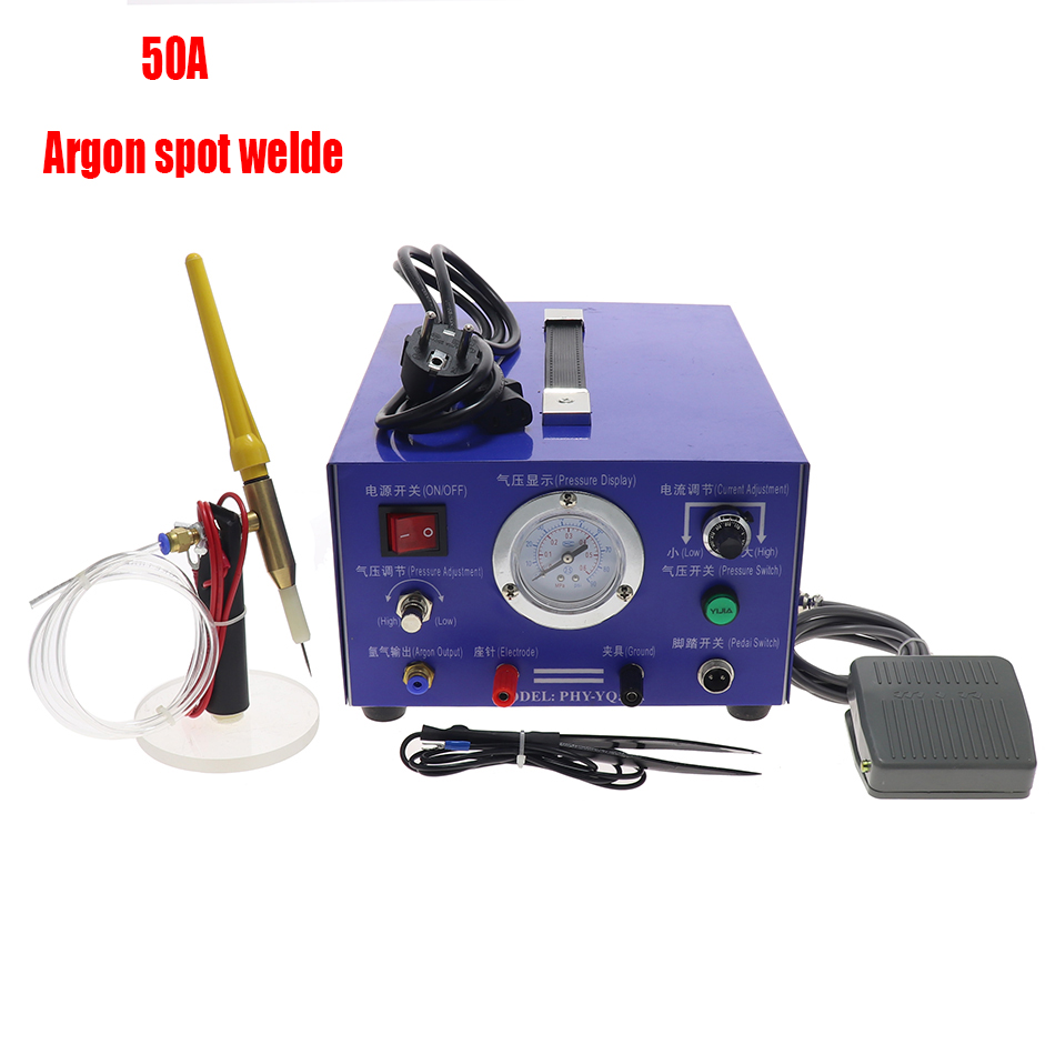 110V 220V Stainless Steel Spot Laser Welding Machine Automatic Numerical Control Touch Pulse Argon Arc Welder for Soldering Jewe